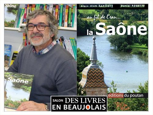 Alain Jean-Baptiste invité du 3e salon Des Livres en Beaujolais