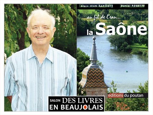 Daniel Rosetta invité du 3e salon Des Livres en Beaujolais