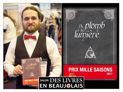 Elie Guillot au 3e salon Des Livres en Beaujolais
