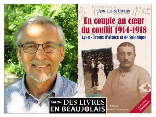 Jean-Luc de Uffredi invitée du 3e salon Des Livres en Beaujolais