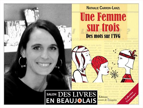 Nathalie Carron-Lanzl invitée du 3e salon Des Livres en Beaujolais