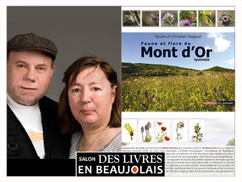 Nicole et Christian Segaud invités du 3e salon Des Livres en Beaujolais