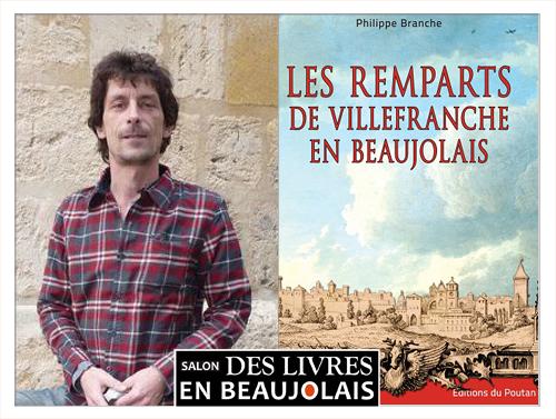 Philippe Branche invité du 3e salon Des Livres en Beaujolais