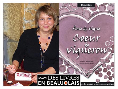 Sandrine Vadrot-Morel invitée au 3e salon Des Livres en Beaujolais