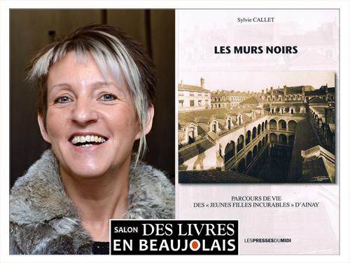 Sylvie Callet invitée du 3e salon Des Livres en Beaujolais