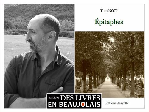 Tom Noti invitée du 3e salon Des Livres en Beaujolais
