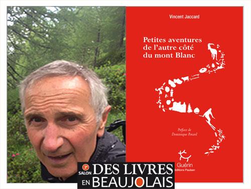 Vincent Jaccard invité du 3e salon Des Livres en Beaujolais