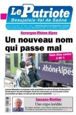 Une_Le_Patriote_Beaujolais_16juin2016