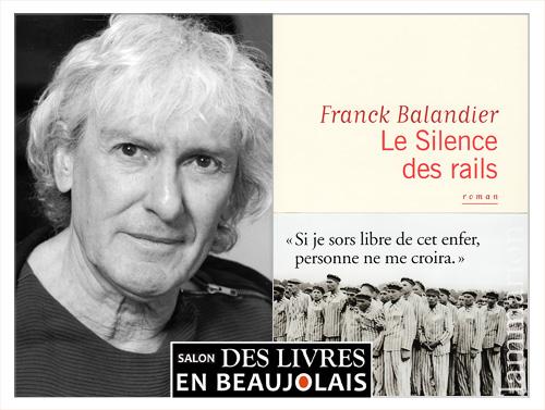 Franck Balandier invité du 3e salon Des Livres en Beaujolais