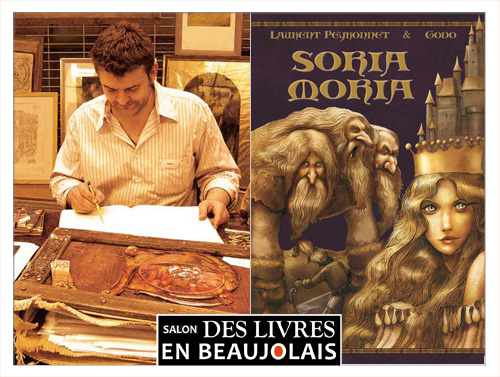 Godo invité du 3e salon Des Livres en Beaujolais