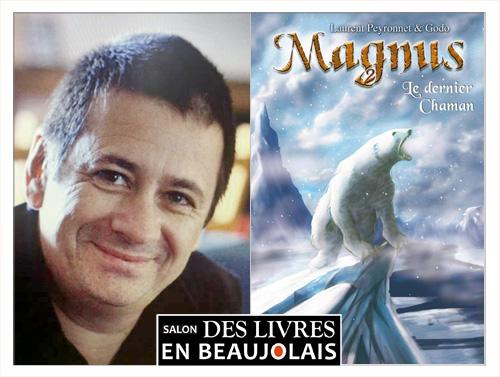 Laurent Peyronnet invité du 3e salon Des Livres en Beaujolais