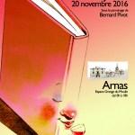 Affiche réalisée par Jean Claverie pour le 3e Salon Des Livres en Beaujolais