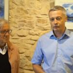 Marc Pabois et Michel Romanet-Chancrin, maire d'Arnas