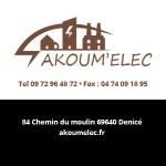 Akoum'Elec Partenaire du salon Des Livres en Beaujolais