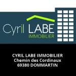 Cyril Labe Immobilier Partenaire salon Des Livres en Beaujolais