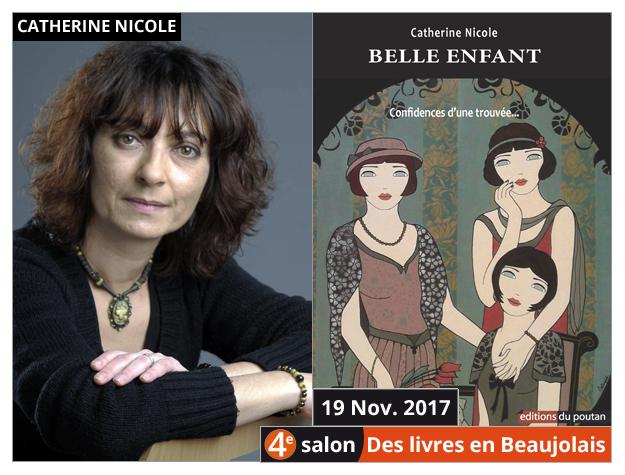 Catherine Nicole invitée du 4e salon Des Livres en Beaujolais