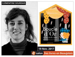 Clémentine Sourdais invitée d'honneur du 4e salon Des Livres en Beaujolais