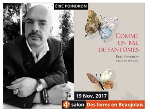 Éric Poindron invité du 4e salon Des Livres en Beaujolais