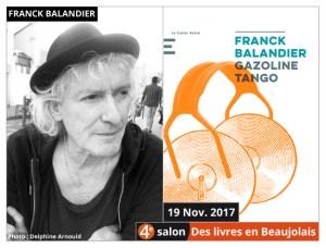 Franck Balandier invité du 4e salon Des Livres en Beaujolais