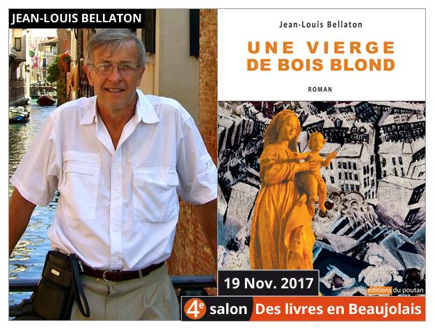 Jean-Louis Bellaton invité du 4e salon Des Livres en Beaujolais