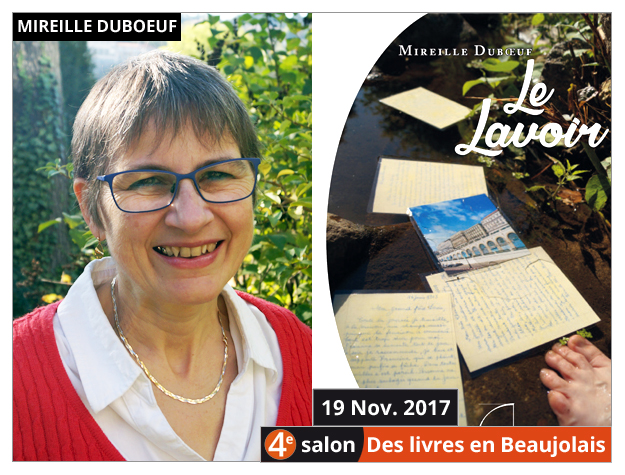 Mireille Duboeuf invitée du 4e salon Des Livres en Beaujolais