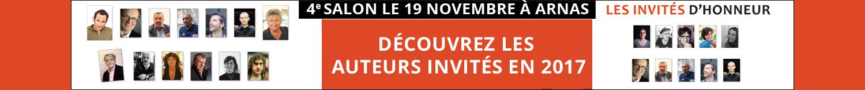 Invités d'honneur pour le 4e salon Des livres en Beaujolais le dimanche 19 novembre 2017 !