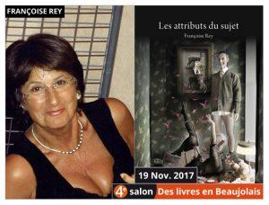Françoise Rey invitée d'honneur du 4e salon Des Livres en Beaujolais
