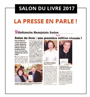 Dossier de Presse : journaux, web, TV… les médias parlent du 4e salon Des Livres en Beaujolais !