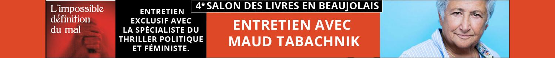 Entretien avec Maud Tabachnik - 4e Salon Des Livres en Beaujolais