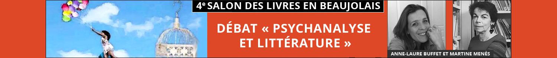Débat Psychanalyse et Littérature - 19 novembre 2017 à Arnas