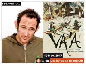 4e salon Des Livres en Beaujolais : Carte Blanche à Benjamin Flao