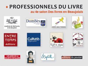 Les professionnels du livre au 4e salon Des Livres en Beaujolais