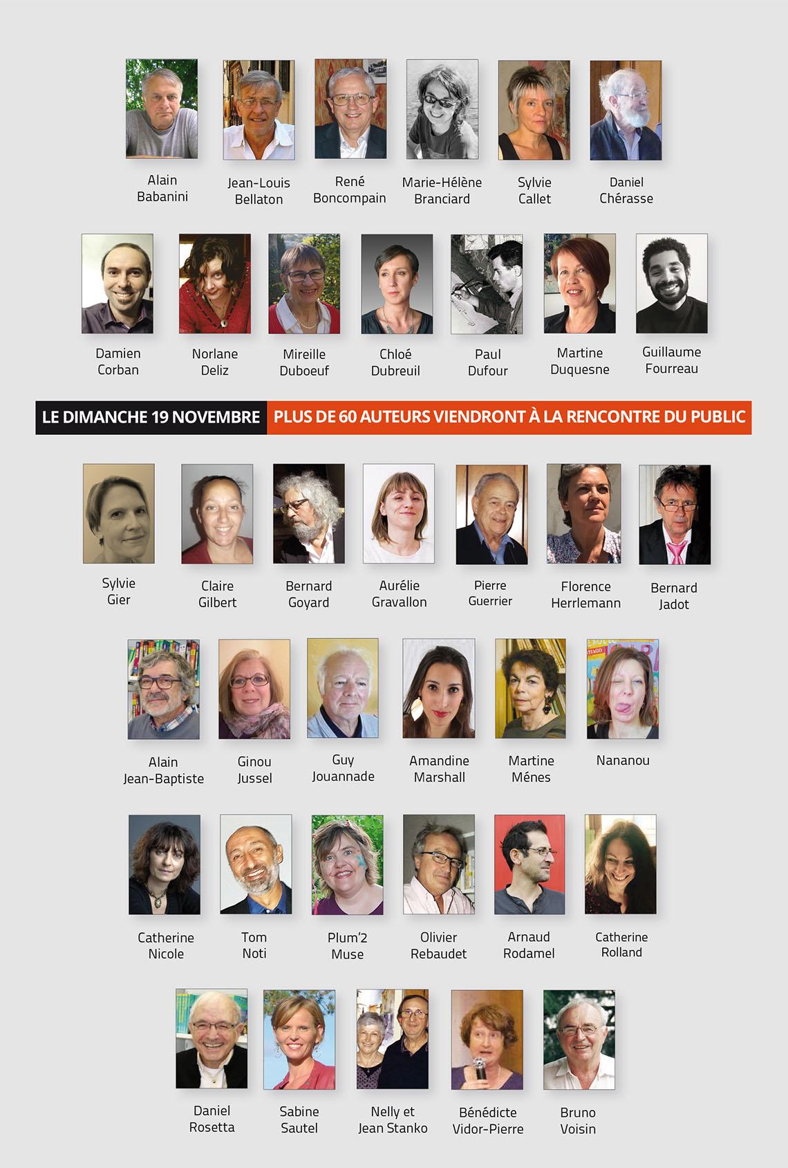 Auteurs sdl beaujolais 2017