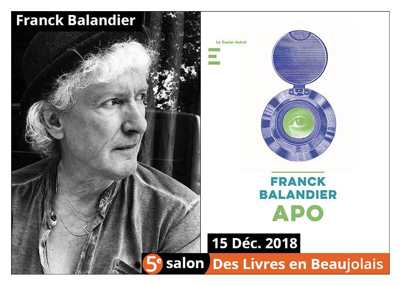Franck Balandier - 5e Salon des Livres en Beaujolais 2018