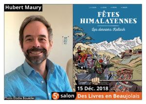 Hubert Maury invité d'honneur du 5e salon Des Livres en Beaujolais