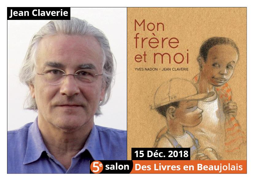 Jean Claverie invité d'honneur du 5e salon Des Livres en Beaujolais