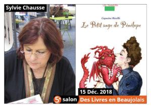 Sylvie Chausse invitée d'honneur du 5e salon Des Livres en Beaujolais