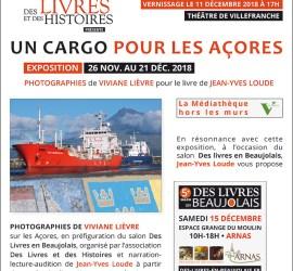 Exposition Un cargo pour les Açores - 5e Salon Des Livres en Beaujolais