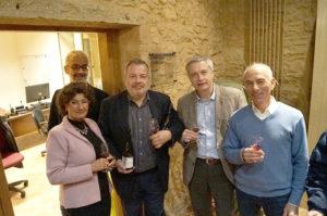 Débat Comme on fait son vin en Beaujolais - Photo Catherine Vermorel