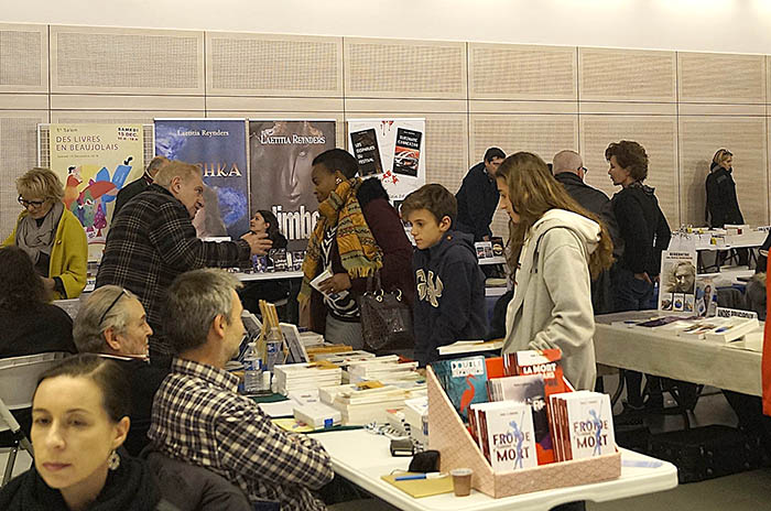 Salon des livres beaujolais 2018 - Photo C. Vermorel