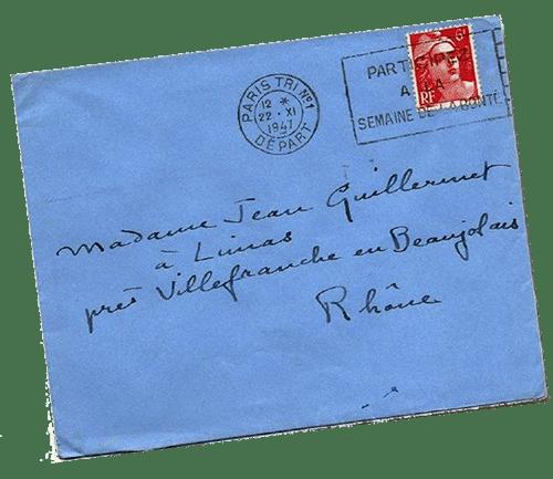 Lettre colette beaujolais
