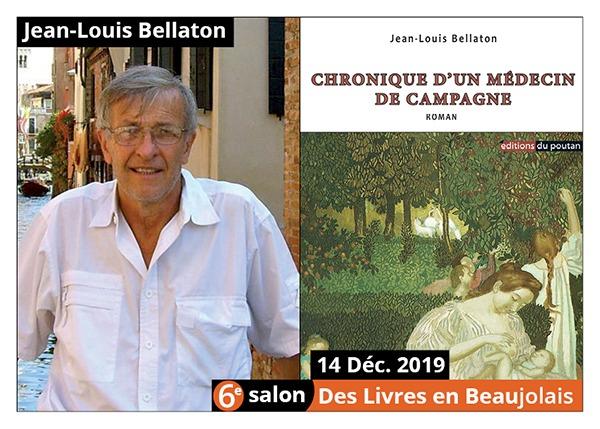 Jean-Louis Bellaton - 6e Salon des Livres en Beaujolais 2019