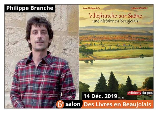 Philippe Branche - 6e Salon des Llivres en Beaujolais 2019
