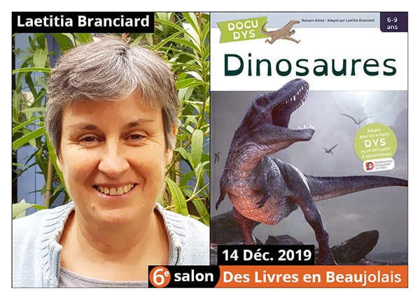 Laetitia Branciard - 6e Salon des Livres en Beaujolais 2019