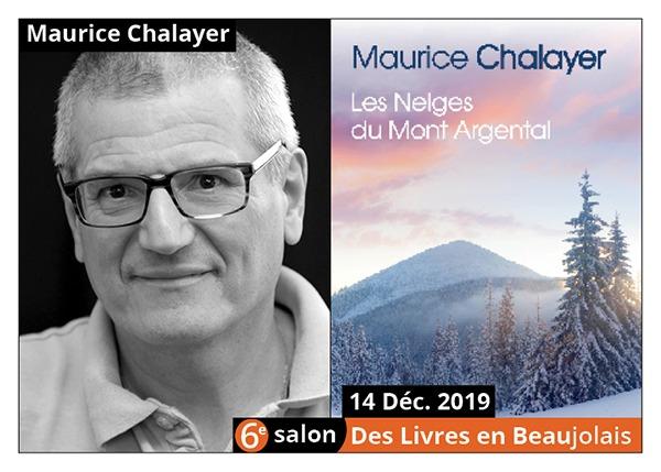 Maurice Chalayer - 6e Salon des Livres en Beaujolais 2019