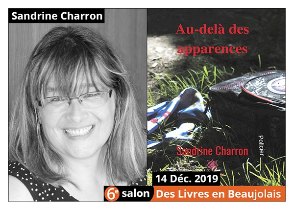 Sandrine Charron - 6e Salon des Livres en Beaujolais 2019