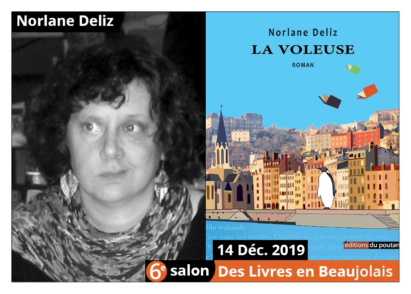 Norlane Deliz  - 6e Salon des Livres en Beaujolais 2019