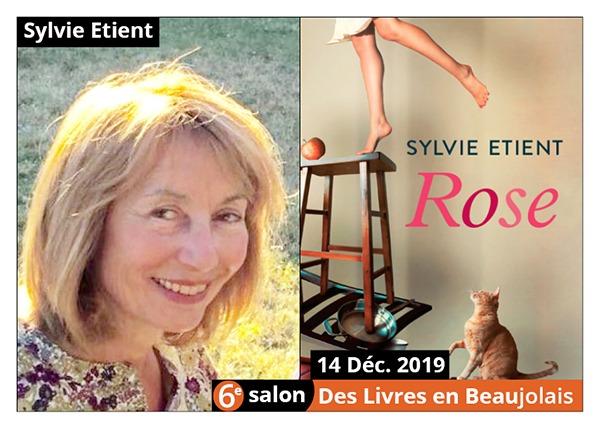 Sylvie Etient - 6e Salon des Livres en Beaujolais 2019