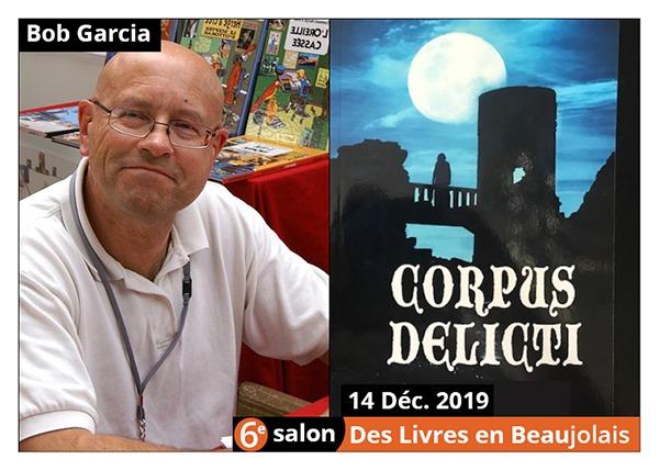 Bob Garcia - 6e Salon des Livres en Beaujolais 2019