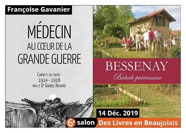Françoise Gavanier - 6e Salon des Livres en Beaujolais 2019
